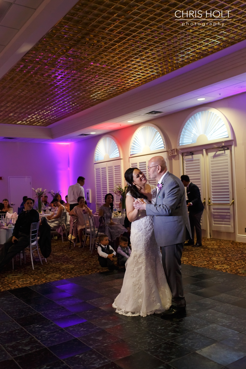 father, daughter, dance, wedding, california country club, whittier, wedding venue, reception, local, wedding wire, the knot
