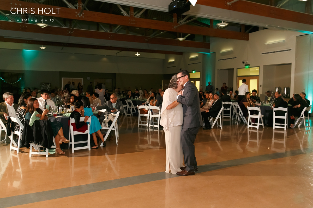 Mother son dance at Fullerton Community Center