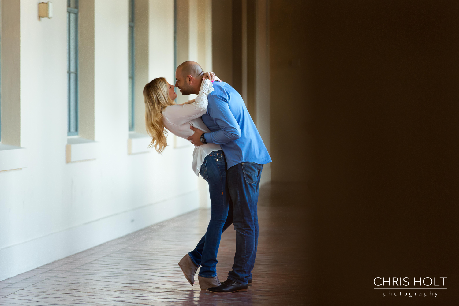 Romantic engagement session in Pasadena with Michelle and Daniel