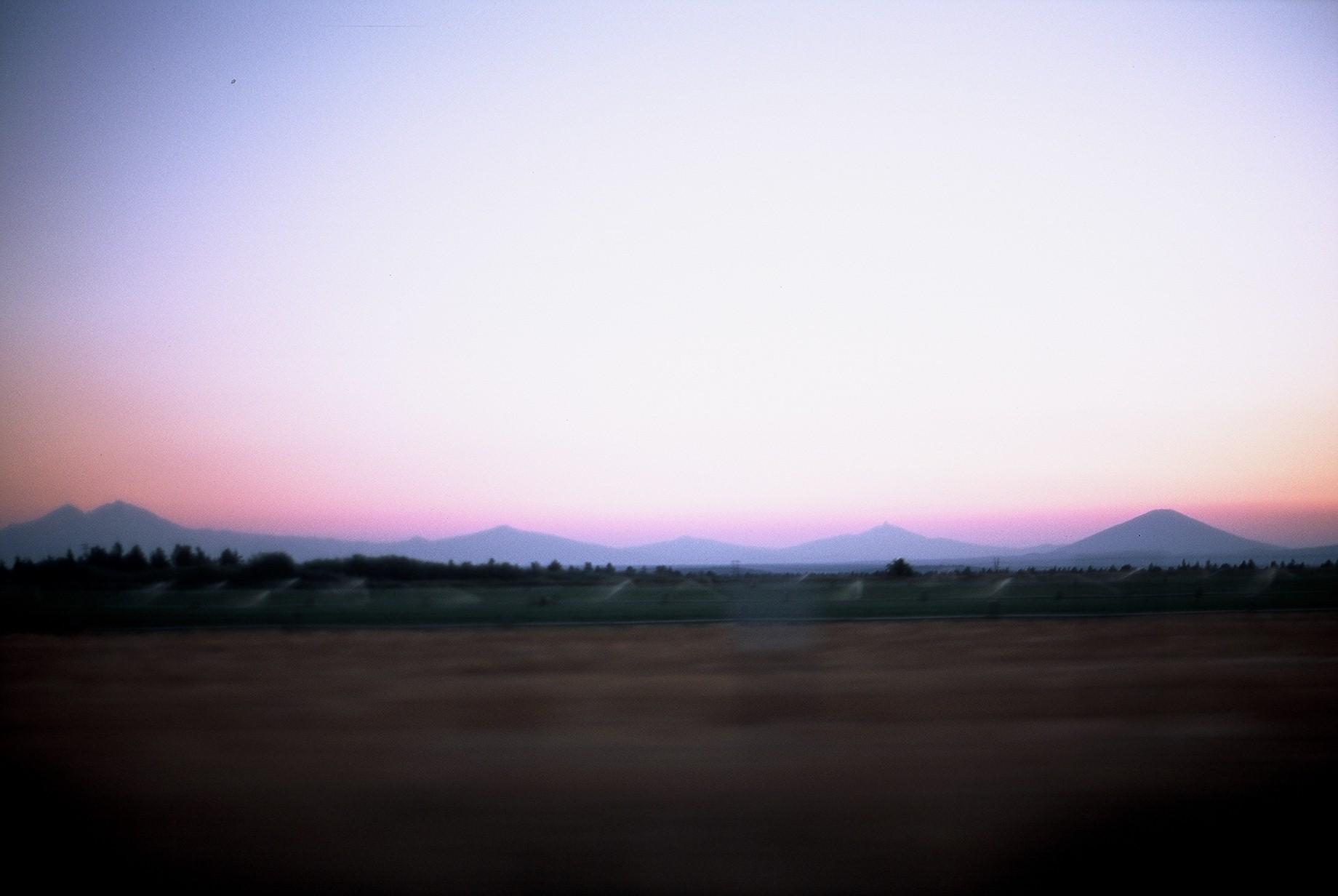 Sister Mountains, Washington, 2012.
