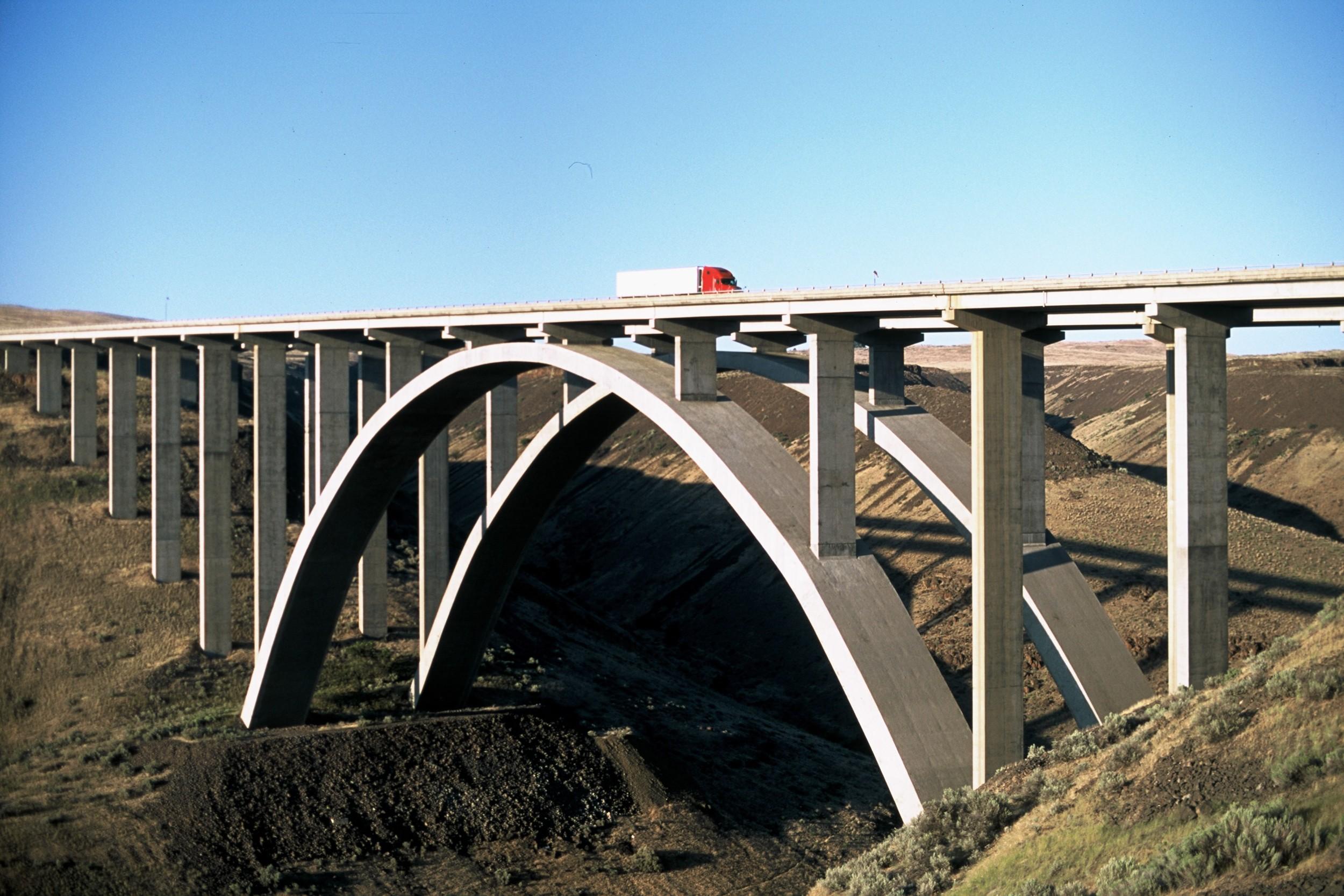 The Fred G Redman Bridge (Selah Creek Bridge) Yakima County, Washington, 2012