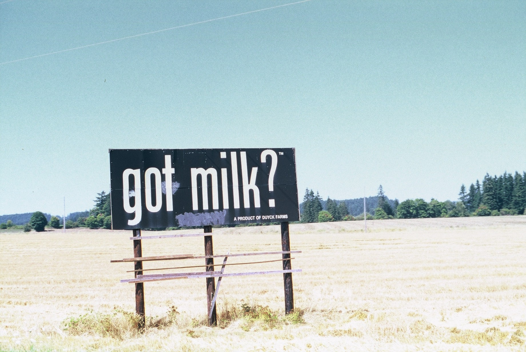 Got Milk?, Portland, Oregon, 2012.