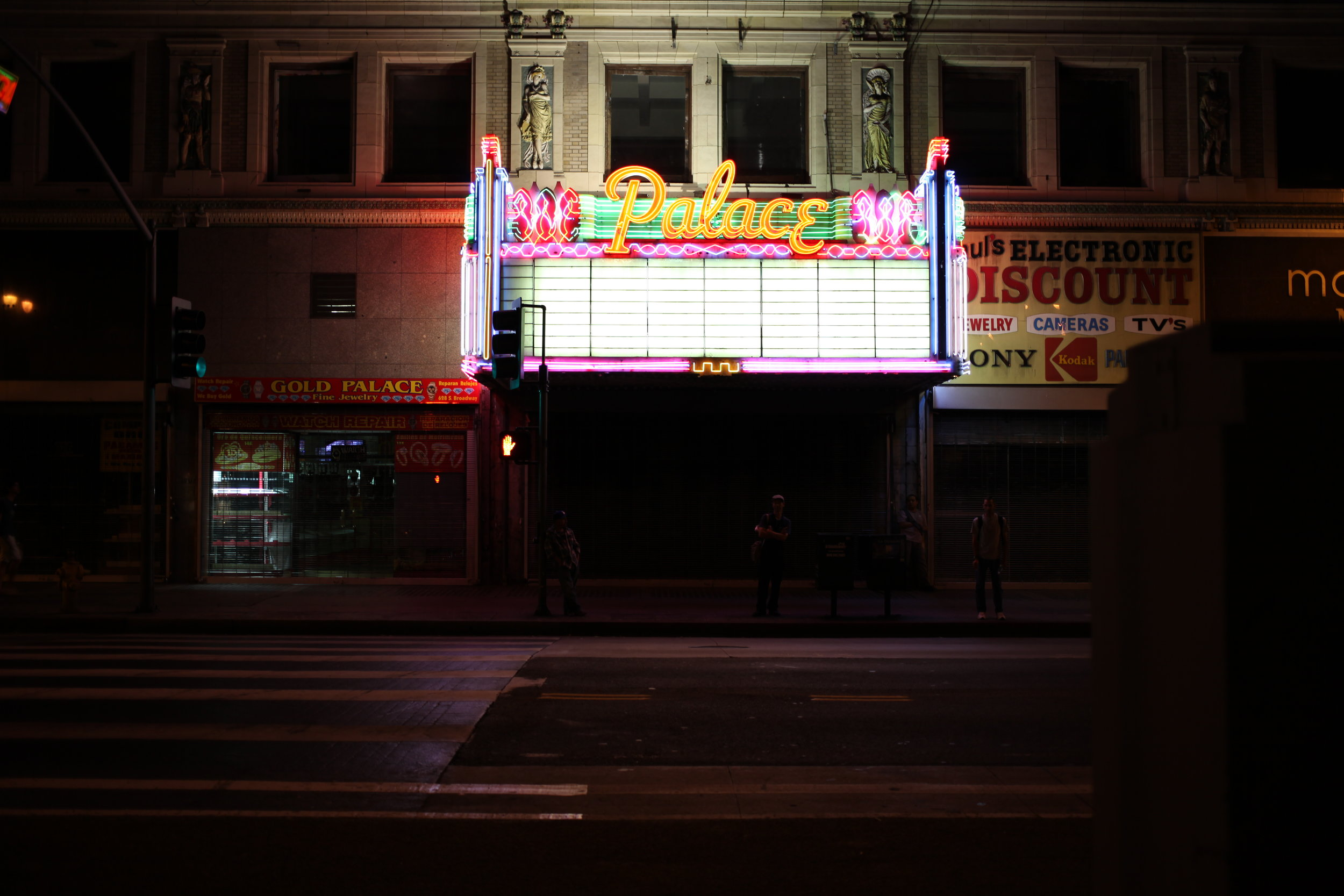 Palace Theatre, S Broadway, Los Angeles, 2014