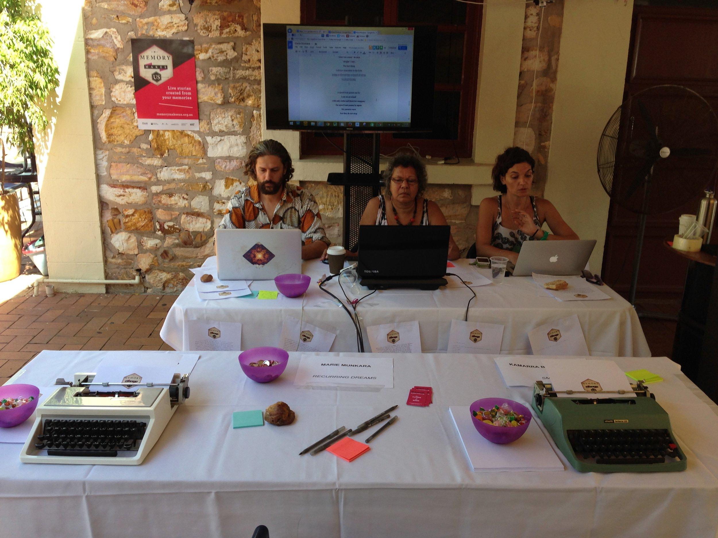 Levin A. Diatschenko, Marie Munkara, & Kamarra Bell-Wykes, May 2014