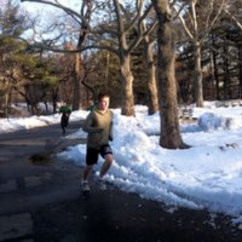 NYC Running Coach Sean Fortune coaches one-on-one year round in Central Park: winter, spring, summer, fall. When conditions are bad we go indoors onto the treadmill or indoor track