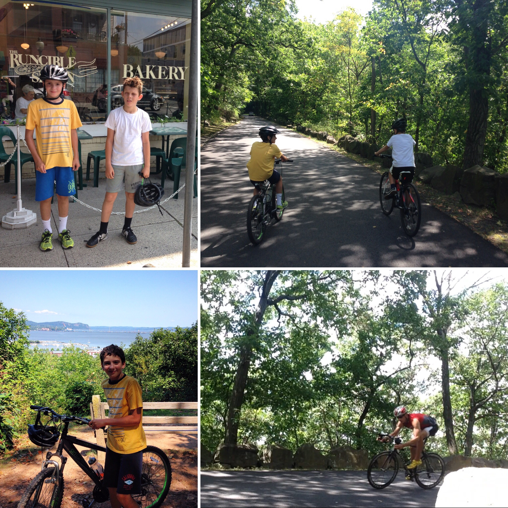 NYC Running Coach Sean Fortune teaches kids to ride bikes safely for fun and fitness in New York City and the surrounding area
