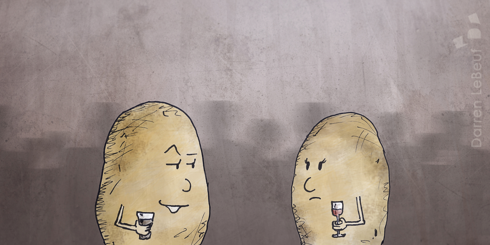 potato pick-up lines, from the Land of le Beef, by Darren Lebeuf