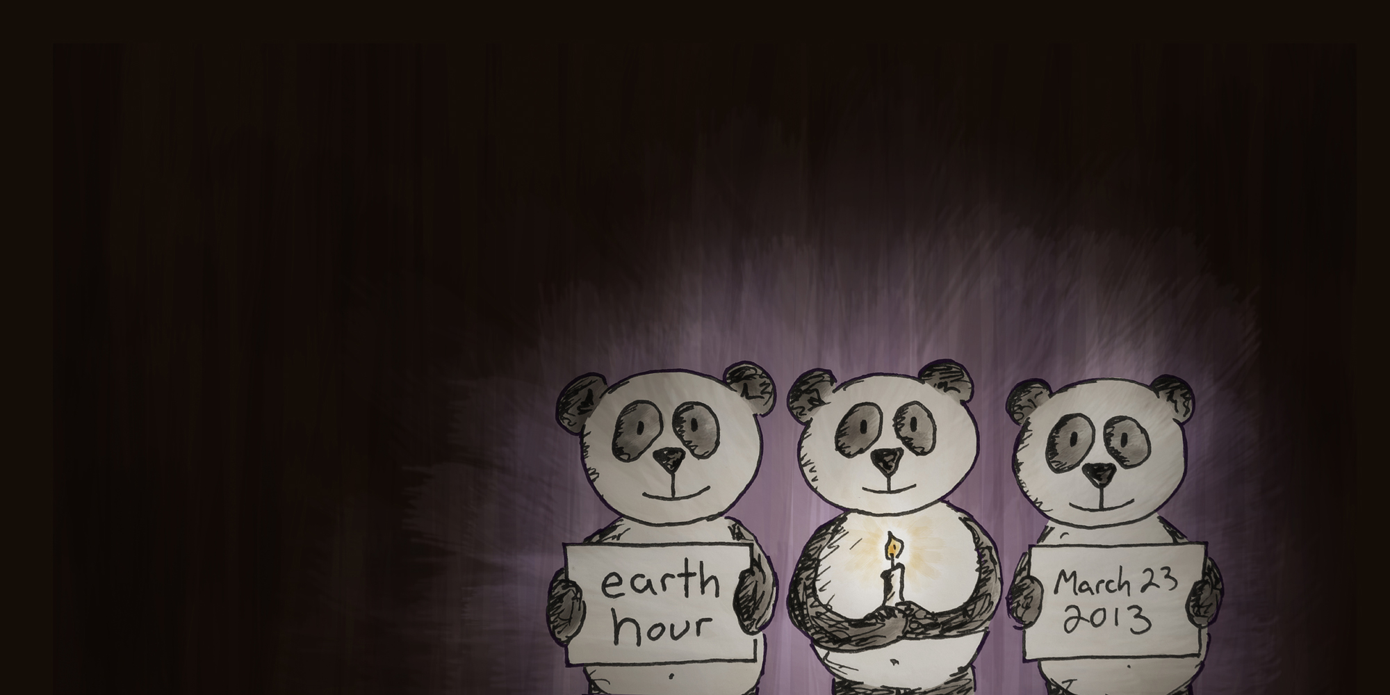 Earth Hour, Hong Kong - March 23, 2013. WWF. brought to you by the Land of Le Beef, by Darren Lebeuf.