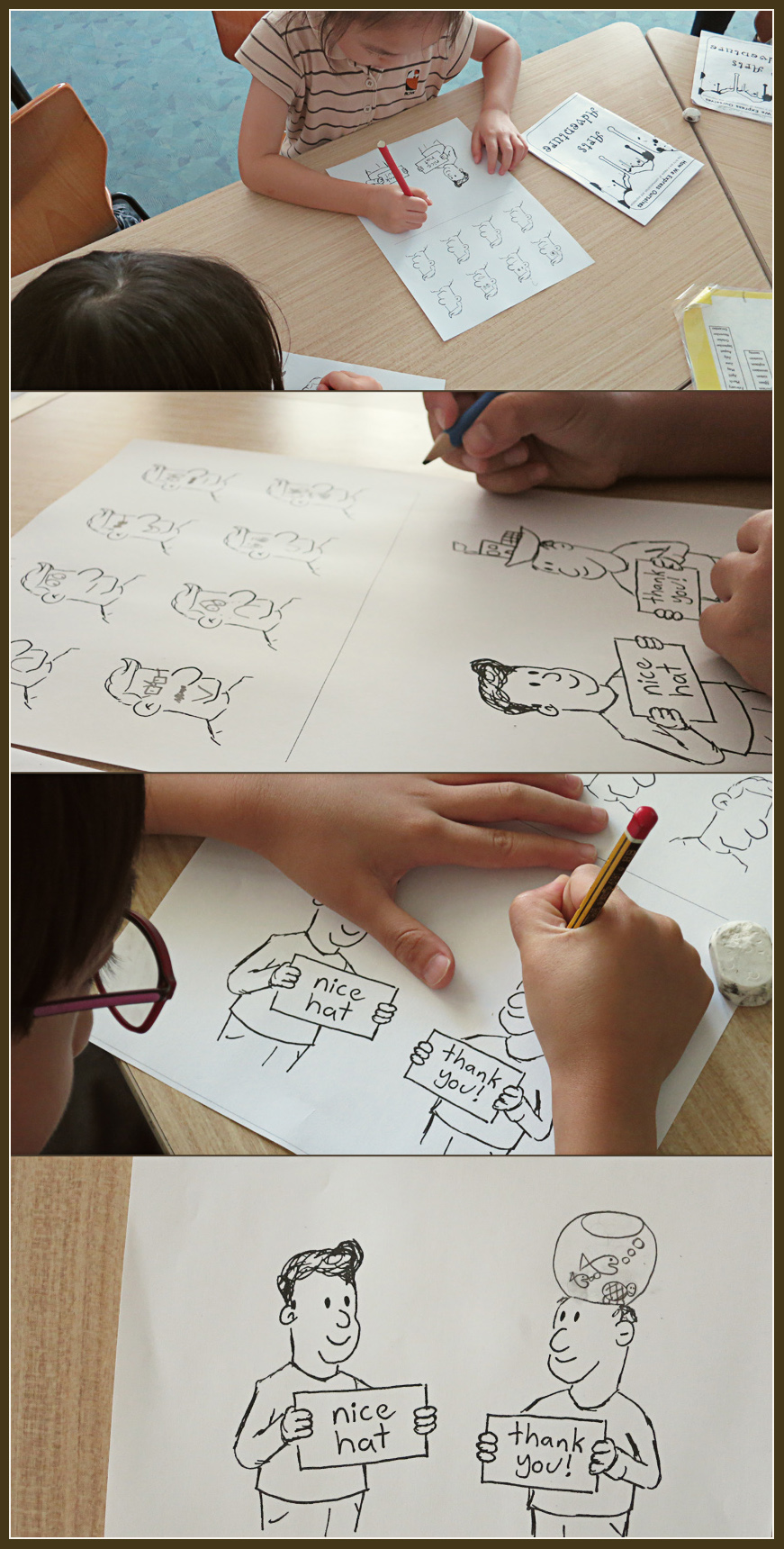 Art Adventure Day - cartooning. The Land of Le Beef, by Darren Lebeuf