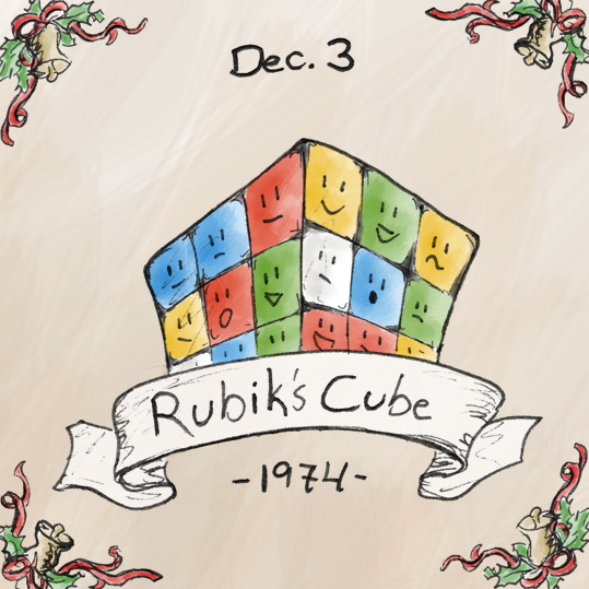 The Rubik's Cube was invented in 1974 by Hungarian architect professor Erno Rubik. It was originally created as a teaching aid, but Rubik soon realized that it could also be used to make millions of people feel dumb for not being able to solve it. It is considered to be one of the worlds best selling toy. Full disclosure: I'm pretty sure I've never solved a Rubik's Cube.
