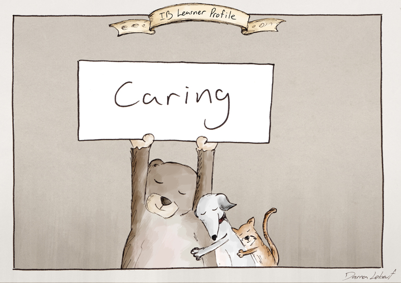 IB Learner Profile Poster - Caring