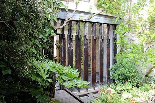 Beautiful LM Showroom garden!