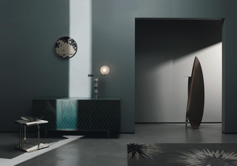 Telegraph Luxury shoot Emerald Magma mirror