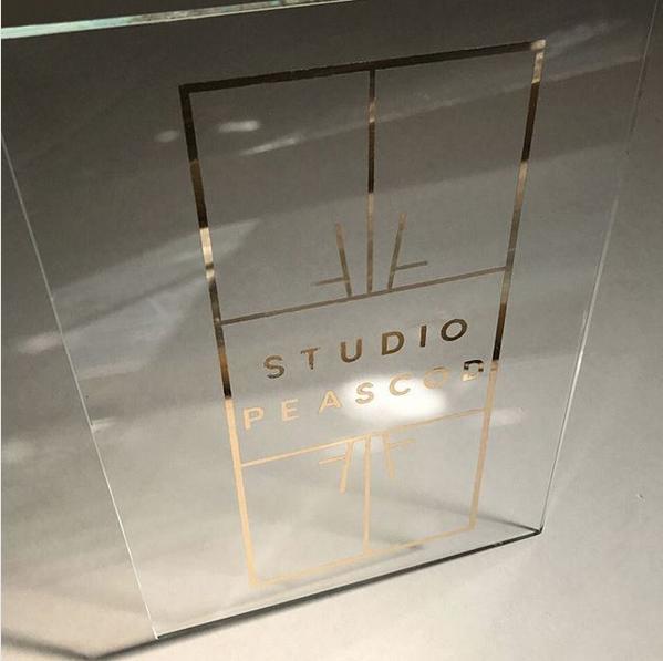 New Studio Peascod sign