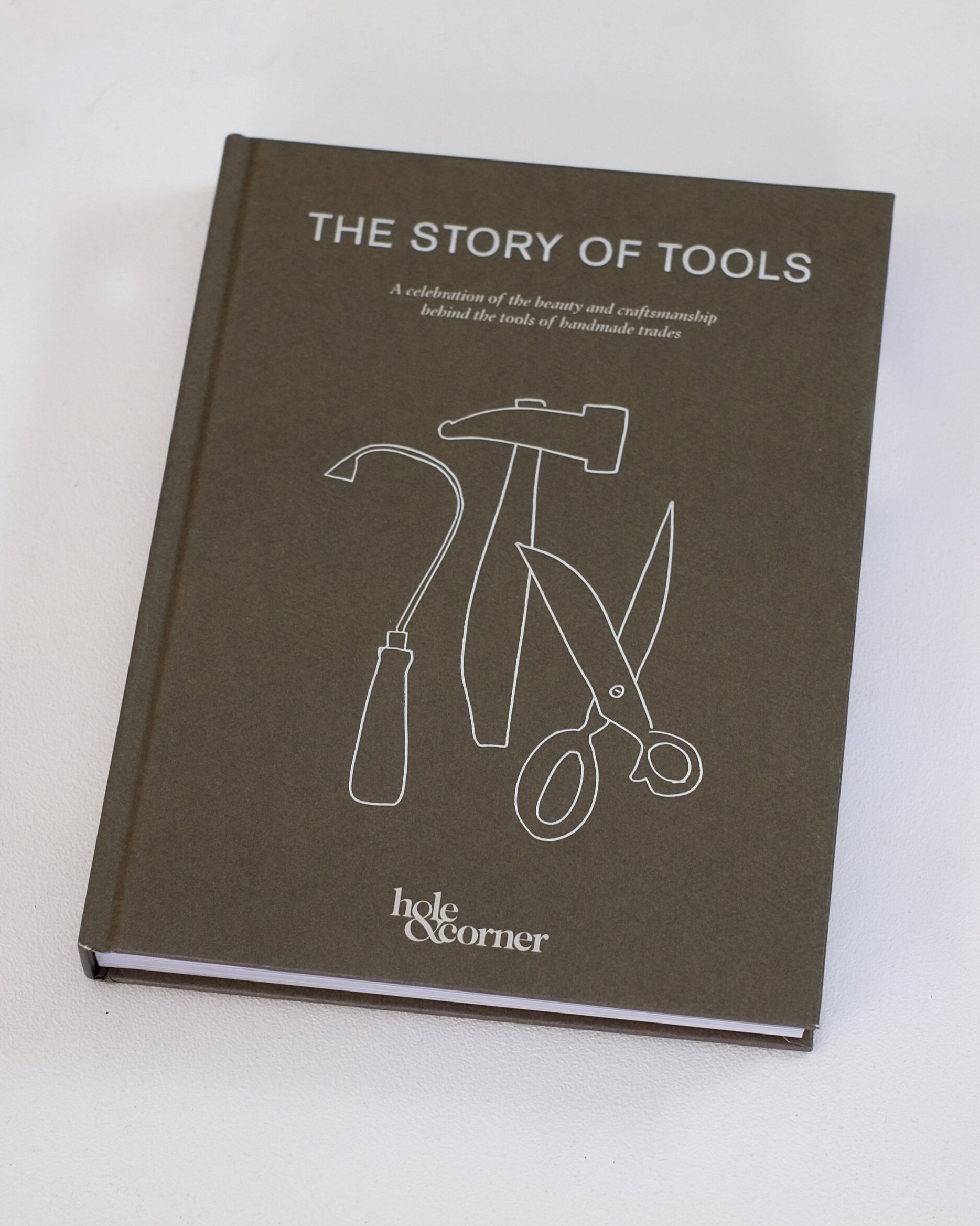The Story of Tools, Hole & Corner, words by Mark Hooper, published by Pavilion