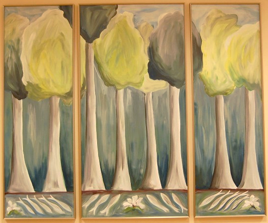 Healing Trees Triptych