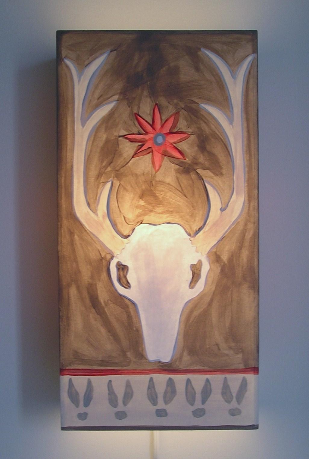 Big Buck Sconce