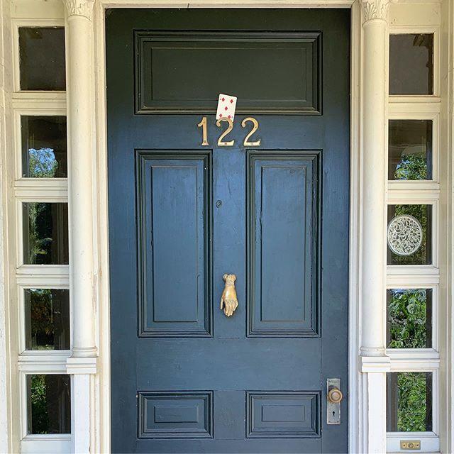 Love an Eclectic Front Door, hey @allstonmccrady ! Where am I? #ysr