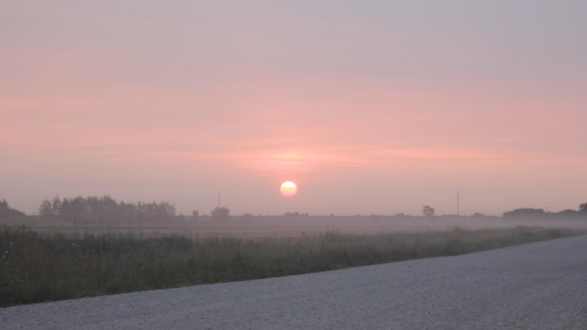 sunrise on the big day
