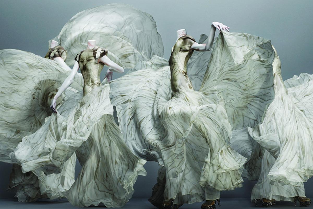 Alexander McQueen (British, 1969–2010). Dress, autumn/winter 2010–11. Image from The Metropolitan Museum of Art