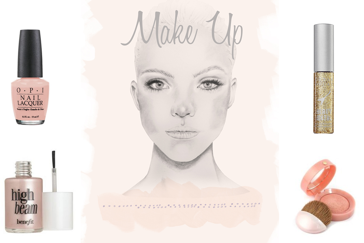 Make up Illustration by Natasha Nicole