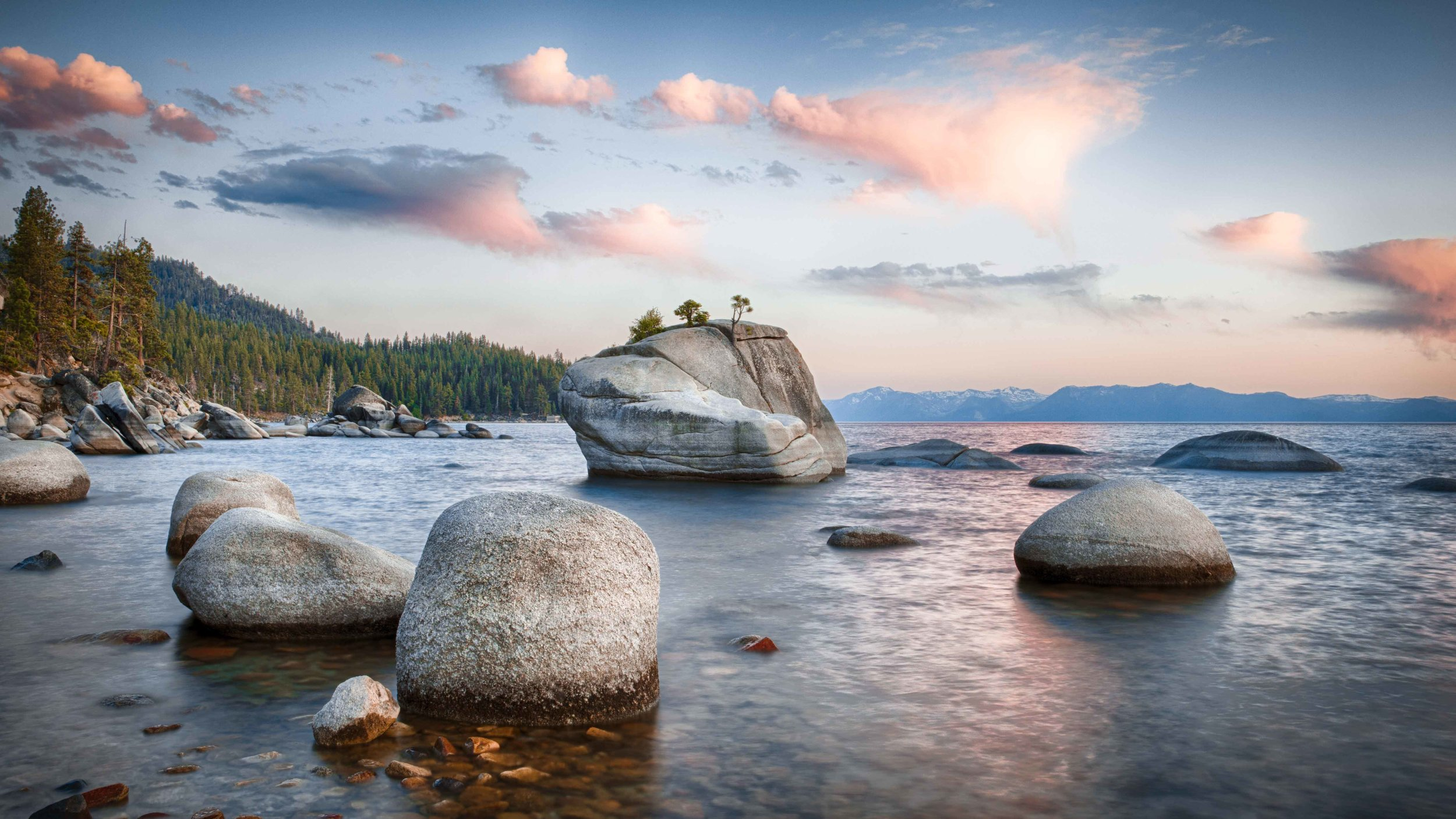 Bonsai Rock Lake Tahoe Sean Christopher Flansbaum
