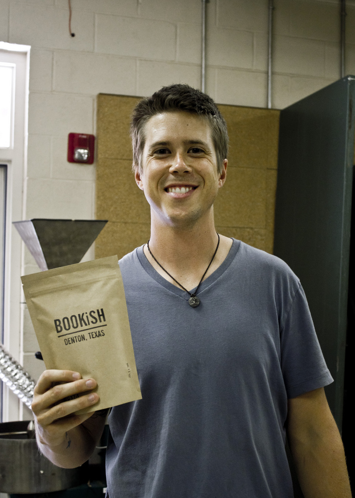 Clay Rozell of Bookish Coffee