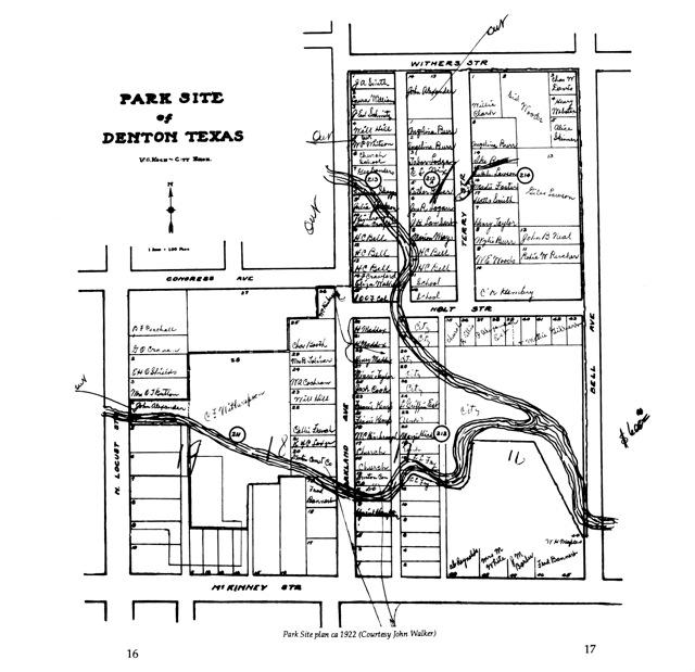 Beginning plans for Quakertown Park