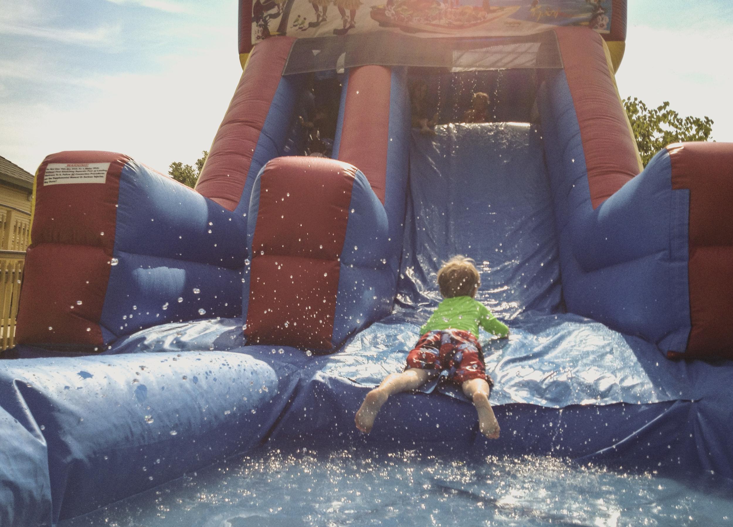 "It was a ""Splash Day"" on Saturday at the Denton Community Market."