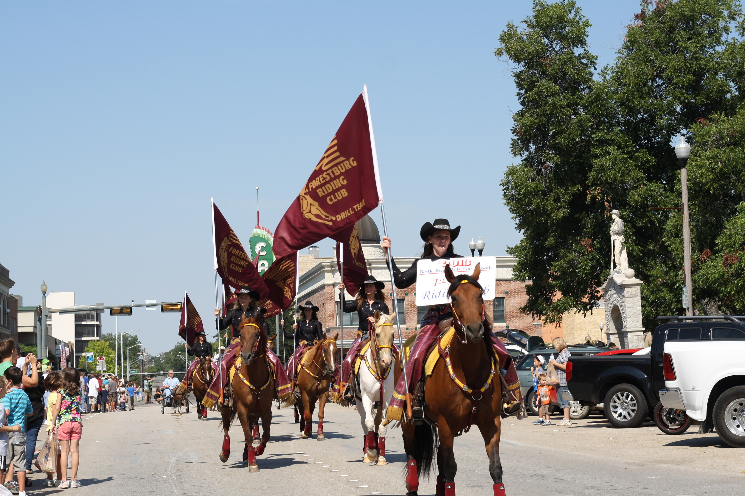 Denton loves it's parades - and we don't mind 'em either. Watching a bunch of kids catch candy and horses stride through the square can be a great way to spend some time on Saturday morning.