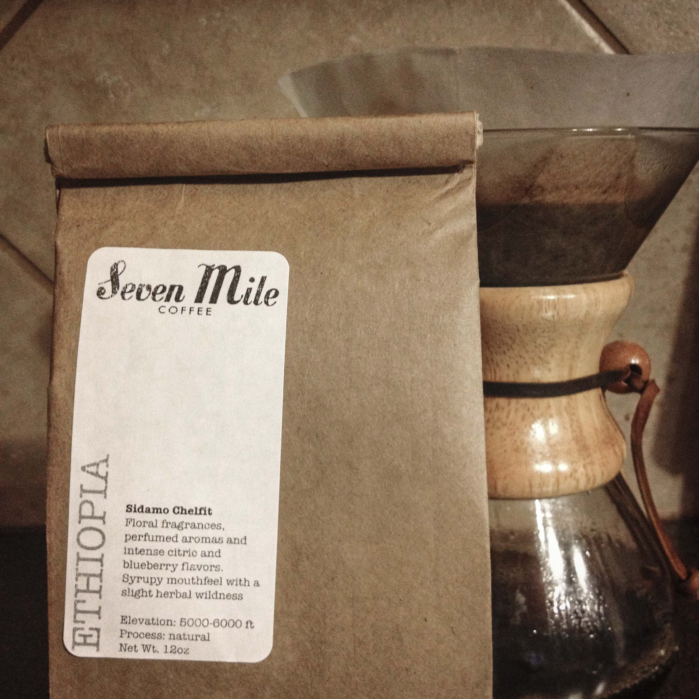 For an entirely different upcoming feature, we purchased a few bags of beans from Seven Mile and their new coffee roaster and had ourselves a couple of tastings. Oh, the things we do for you people.