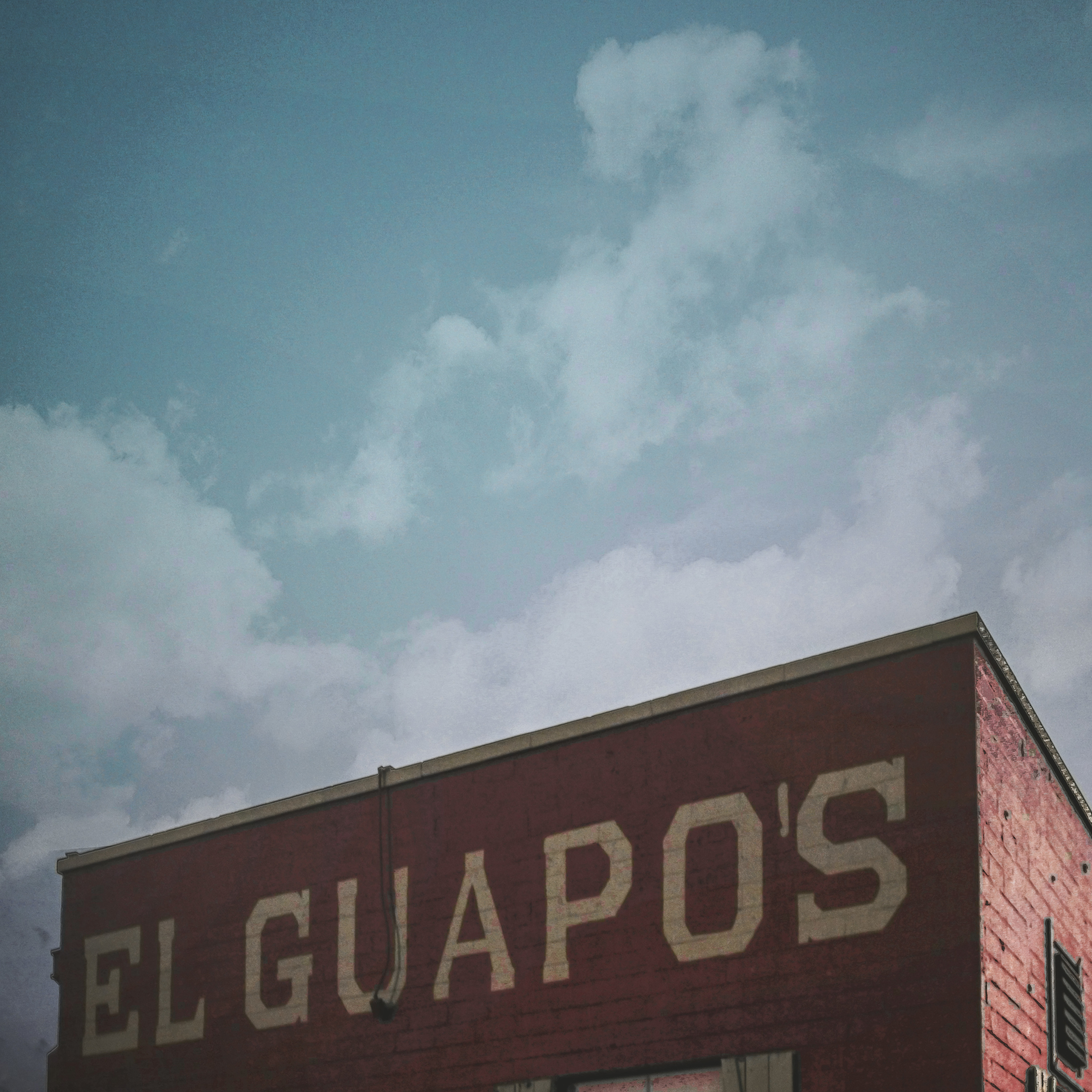 While we haven't been inside in a while (sorry, Mike). The exterior of El Guapo's caught one reader's eye on their way down to DIME for First Friday last week. It's a great walk from the square, if you haven't tried it yet.