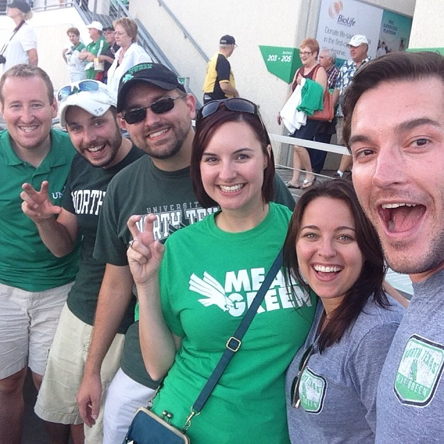 We cheered the Mean Green on to victory at Saturday's game after UT beat OU.