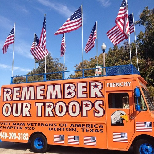 Veterans day was celebrated all around town too! As always, Frenchy did it up big for the ladies and gents who so graciously protect us.