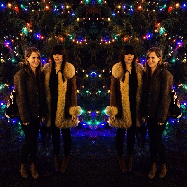 By the looks of it, these ladies spiked their wassail. Photo by  @TheFinderandtheFarmer.