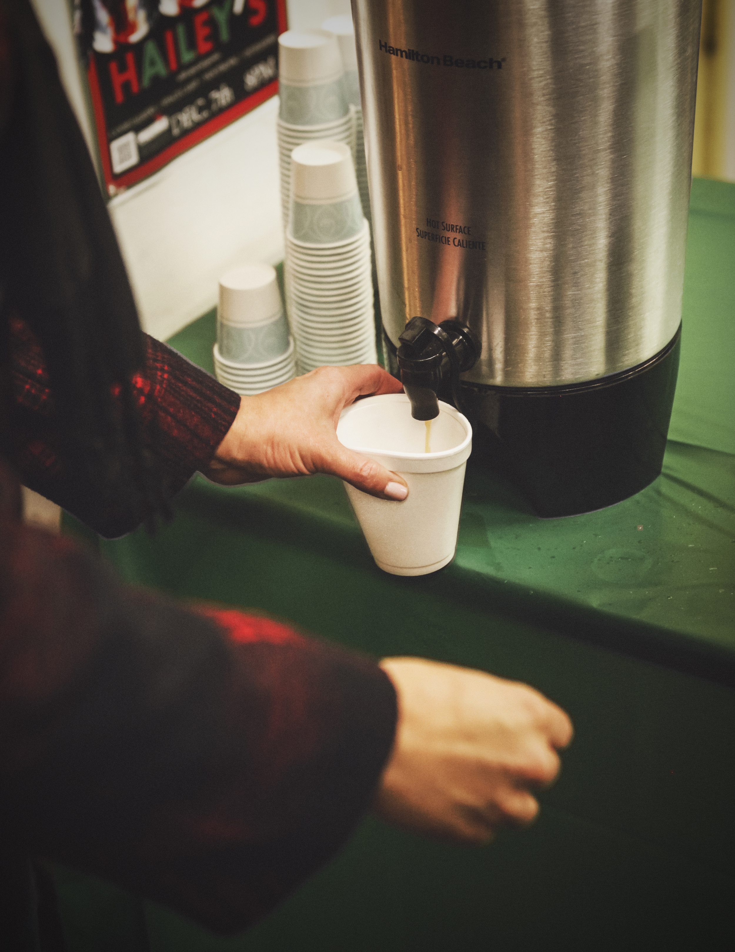 We loved the wassail at Recycled Books, what was your favorite?