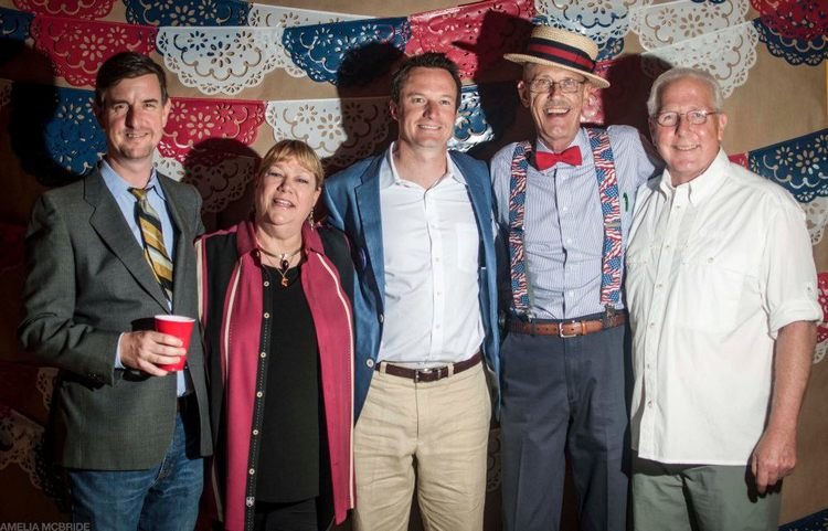 From that time we threw an Election Party. Photo by Amelia McBride.