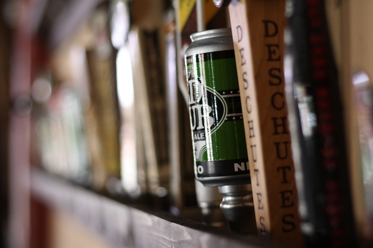 East Side Social Club's 89 (and counting) beers on tap made us happy in 2013.