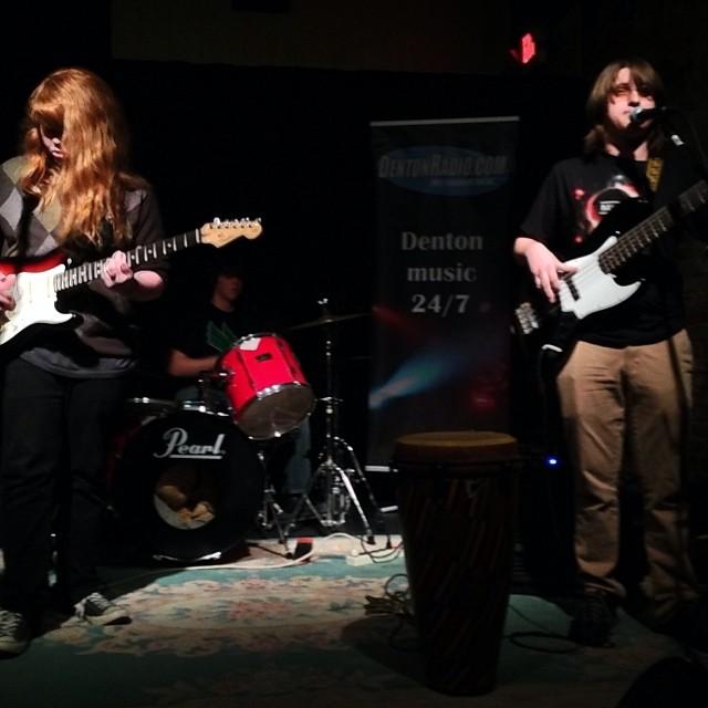 Local teenage band, Work in Progress, rocking Banter last week.  @DrCruz32