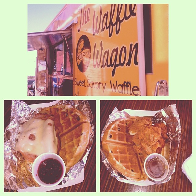 The Denton food truck scene continued to ramp up. Lots of readers checked out The Waffle Wagon. Did you read our interview with them from last week yet? If not,  check it out here . Photo above from reader  Hannah Francis.