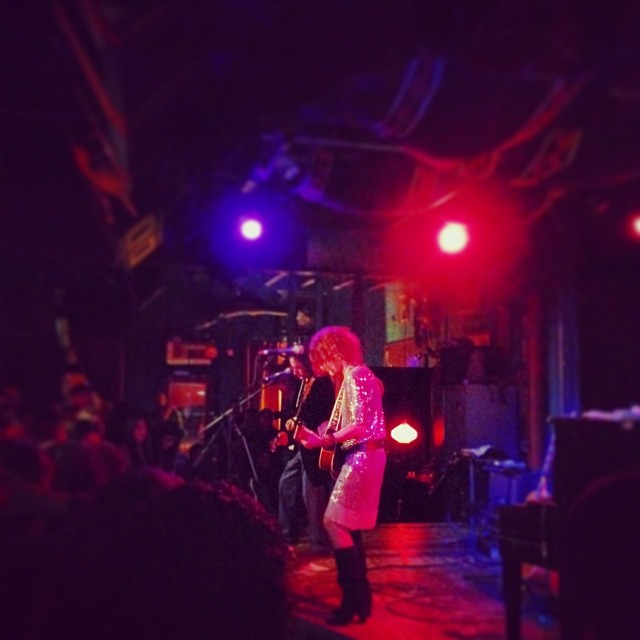 Patty Griffin played Dan's last week and it was awesome. Photo above from  Andy Odom .