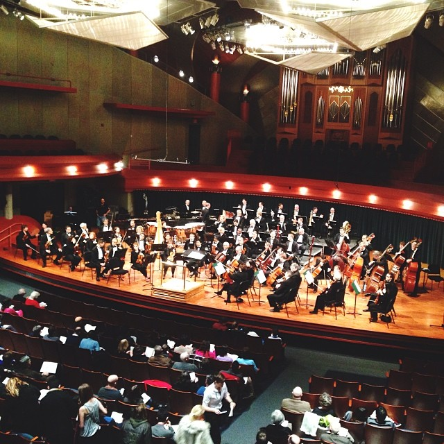 The Dallas Symphony Orchestra played the Murchison this past Saturday and it was wonderful.
