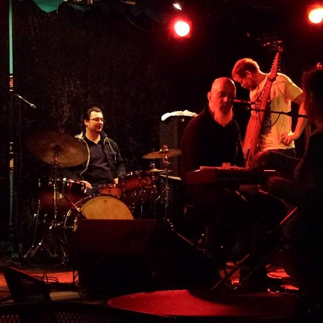 Paul Slavens et co at Dan's Silverleaf last week. Photo by  Todd Spigener.