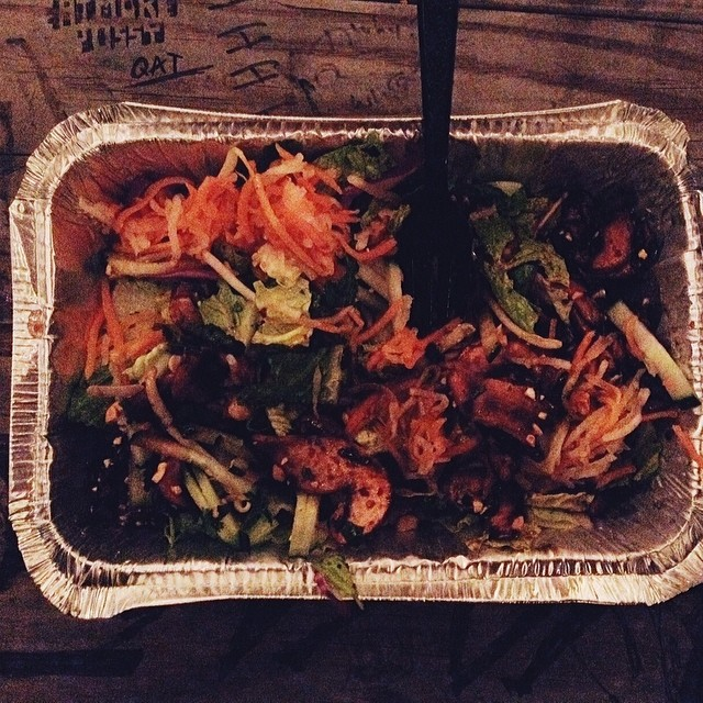 Paige Gibson says this salad from The Pickled Carrot is amazing. Photo by  Paige Gibson .