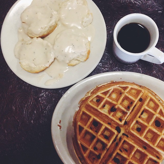 Shaina Sheaff says the breakfast at Cartwright's beats out Loco AND 7 Mile, but not Old West. Y'all agree? Photo by @  S  hainaSheaffPhoto