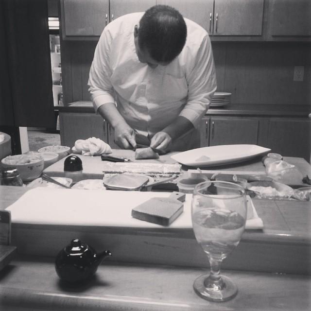 Kei from Keiichi hard at work. Photo by  Josh Piers .