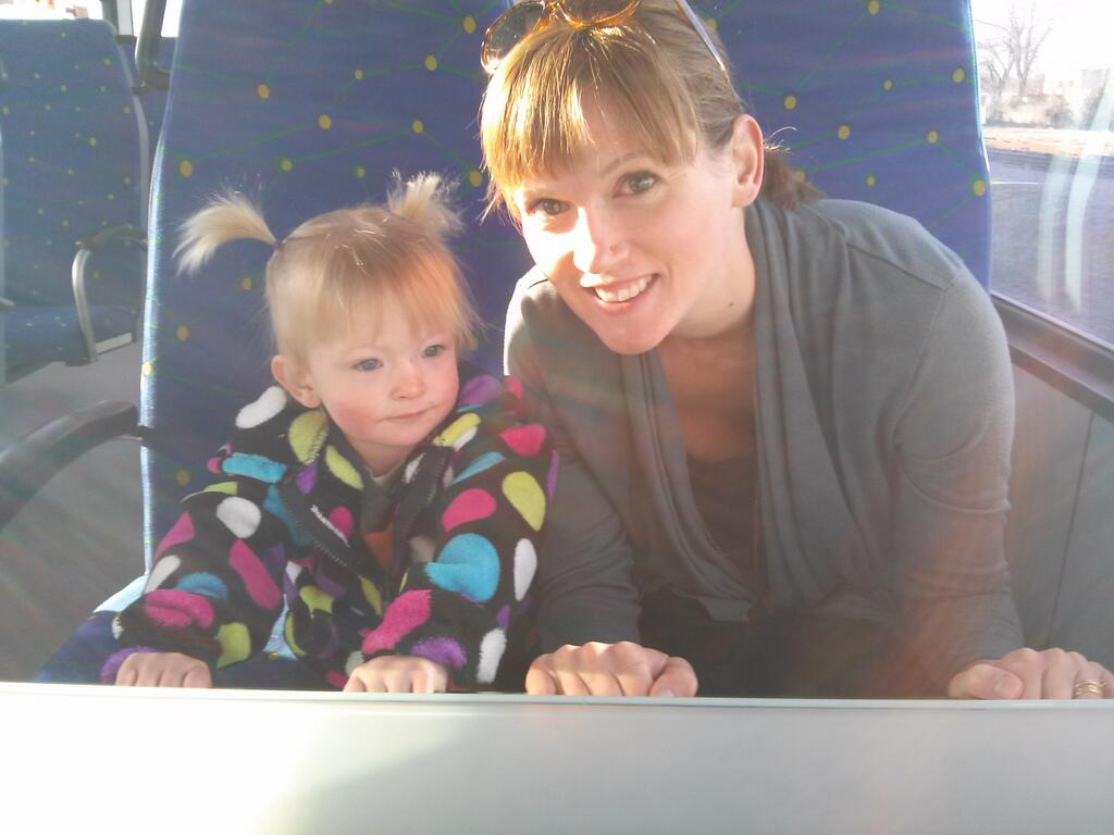 A ride on the A-Train is always fun. Photo from  Amber Briggle .