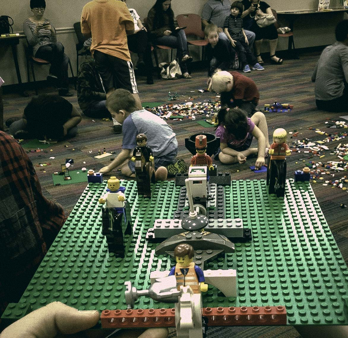 We checked out the Lego Builder's Club at Emily Fowler Library last Friday and had a great time. Their next meeting is next Friday, March 21st at 4:30pm. Take your 6 - 11 year old and watch 'em build.
