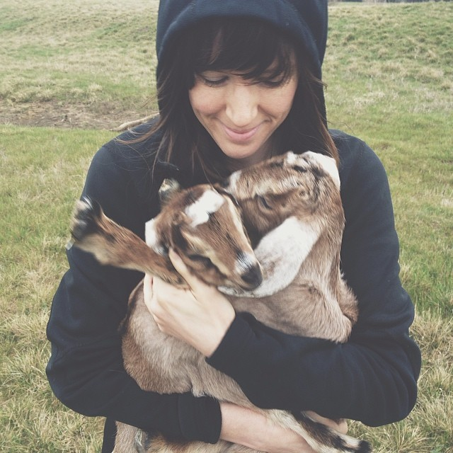 Goats are definitely an acceptable pet in the land of Denton... don't worry  @jadewintersee  - we don't think you're crazy.