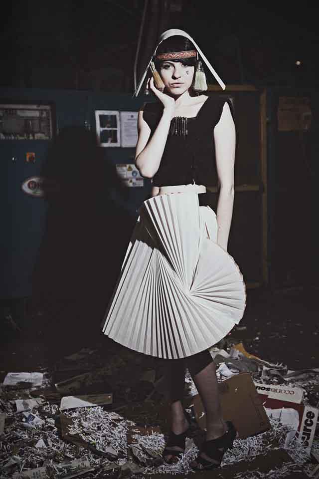 Model/Designer: Sam Cogley Photographyed by Cynthia Pantaleon